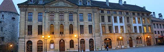 Hôtel de Ville - Place Pestalozzi - Yverdon-les-Bains