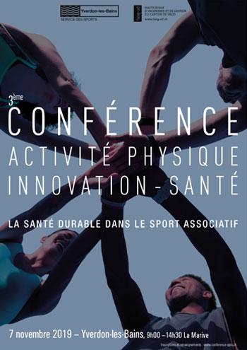 2ème Conférence Activité physique - Innovation-Santé | La santé durable en héritage
