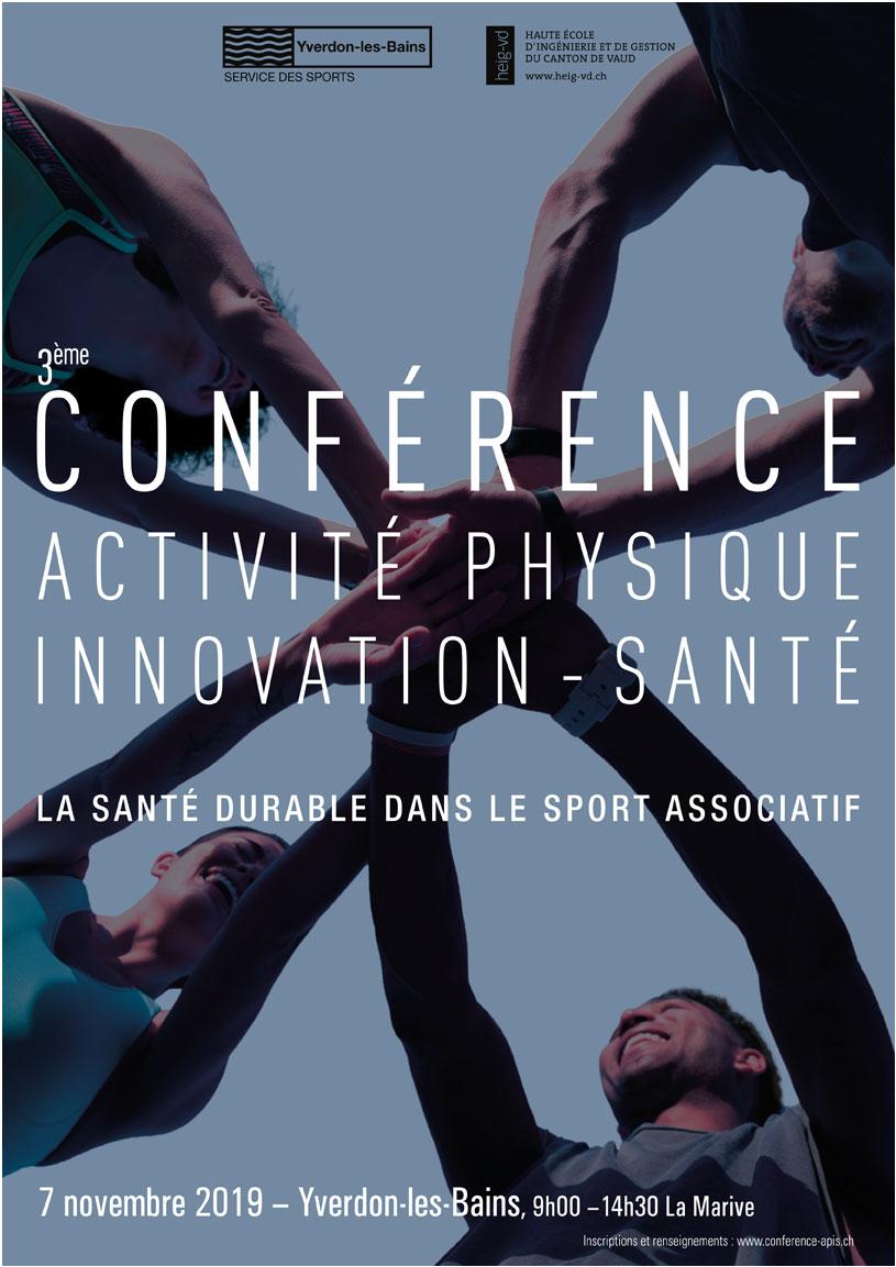 2ème Conférence Activité physique - Innovation-Santé | Santé durable en héritage